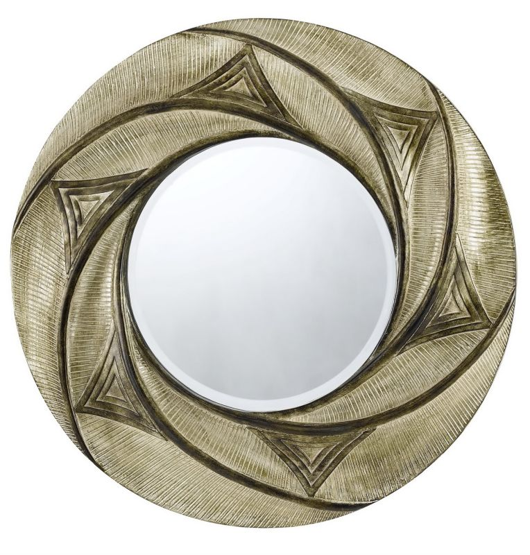 Cal Lighting WA-2157MIR Ponza Round Polyurethane Beveled Mirror Sale $215.10 ITEM: bci1653301 ID#:WA-2157MIR UPC: 20193103661 :