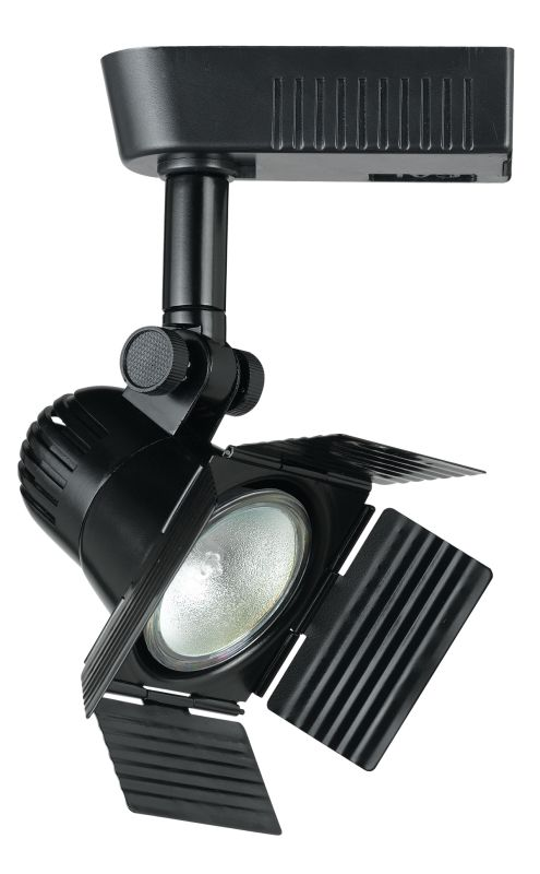 "Cal Lighting HT-972EX18 1 Light Spot Light with Barn Door and 18"" Sale $72.10 ITEM: bci888956 ID#:HT-972EX18-BK :"