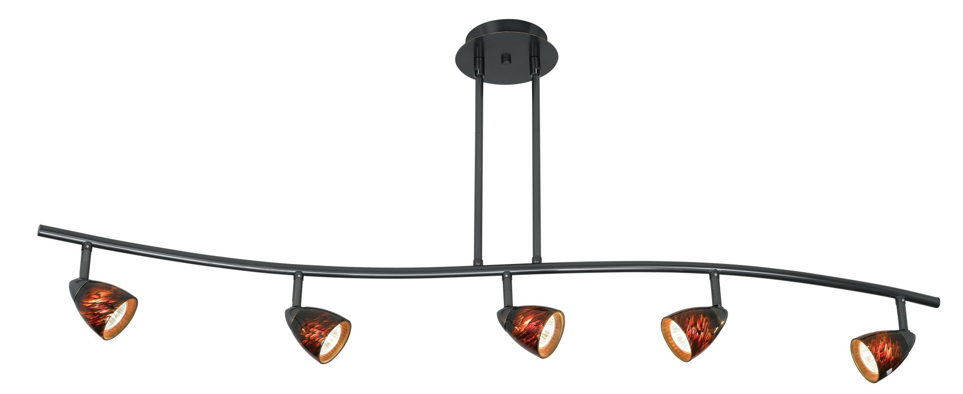 Cal Lighting SL-954-5-BRNS 5 Light Canopy Mount Orbit Light with Brown Sale $301.10 ITEM: bci888278 ID#:SL-954-5-DBBRNS UPC: 20193040959 :