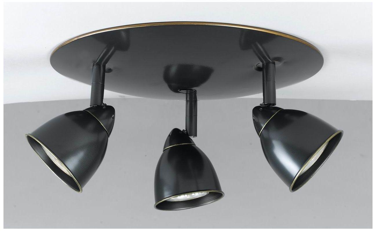 Cal Lighting SL-954-3-CDB Art Deco / Retro 3 Light Island / Billiard