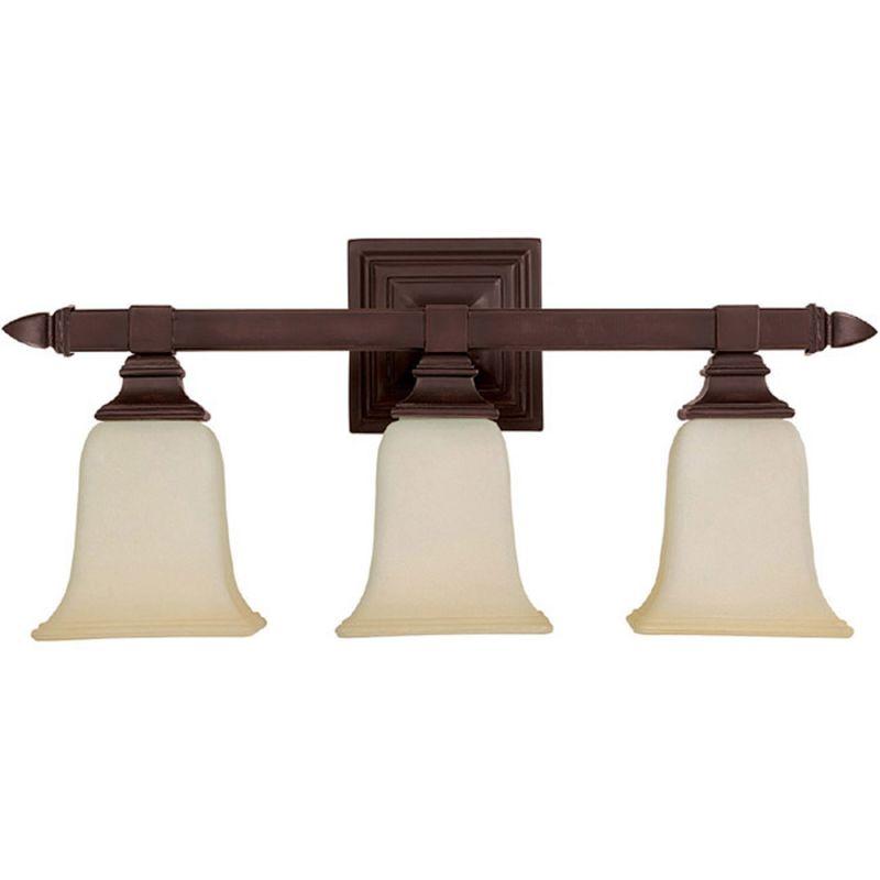 Capital Lighting 1063mz 140 Mediterranean Bronze 3 Light Bathroom Vanity Fixture