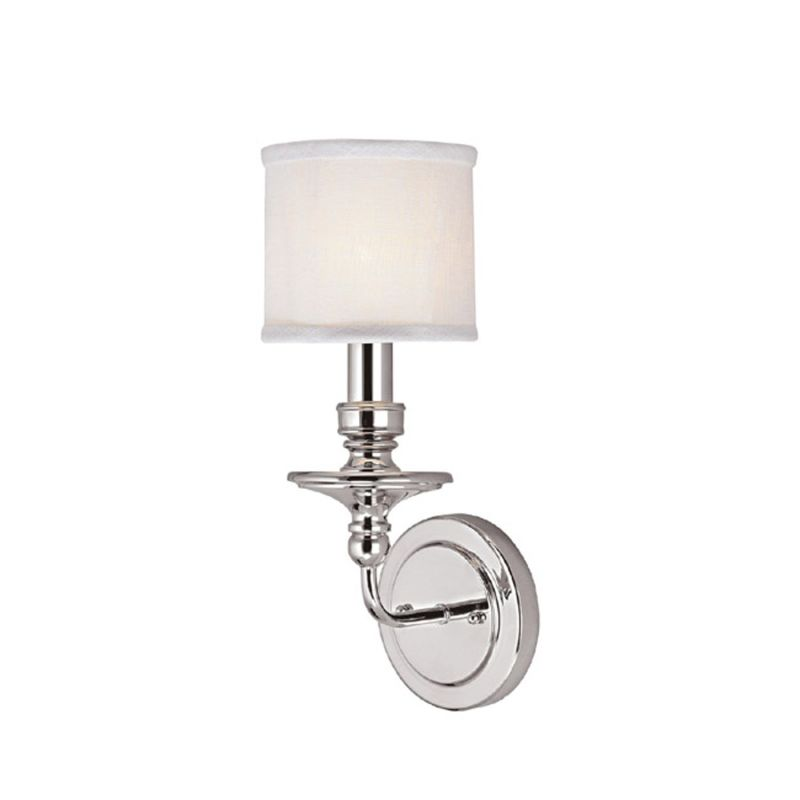 "Capital Lighting 1231-451 Midtown Single Light 16"" Tall Wall Sconce"