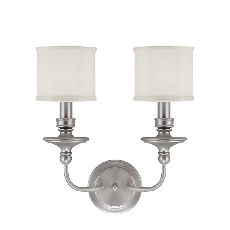 "Capital Lighting 1232-451 Midtown 2 Light 17"" Tall Wall Sconce with"