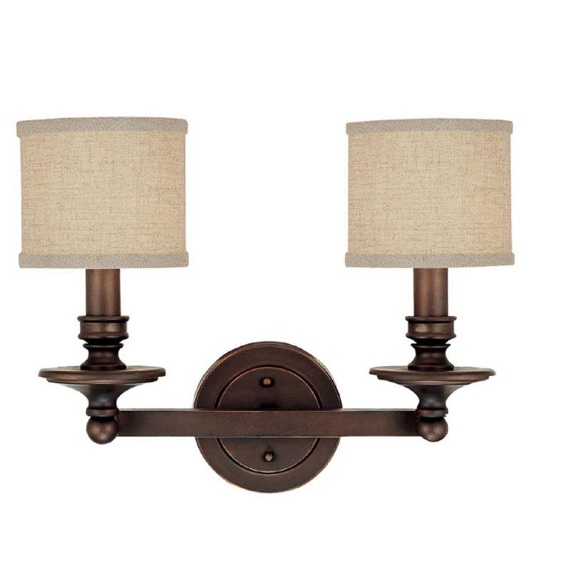 Capital Lighting 1237-450 Loft 2 Light Bathroom Vanity Fixture Sale $128.00 ITEM: bci1172459 ID#:1237BB-450 UPC: 841224067697 :