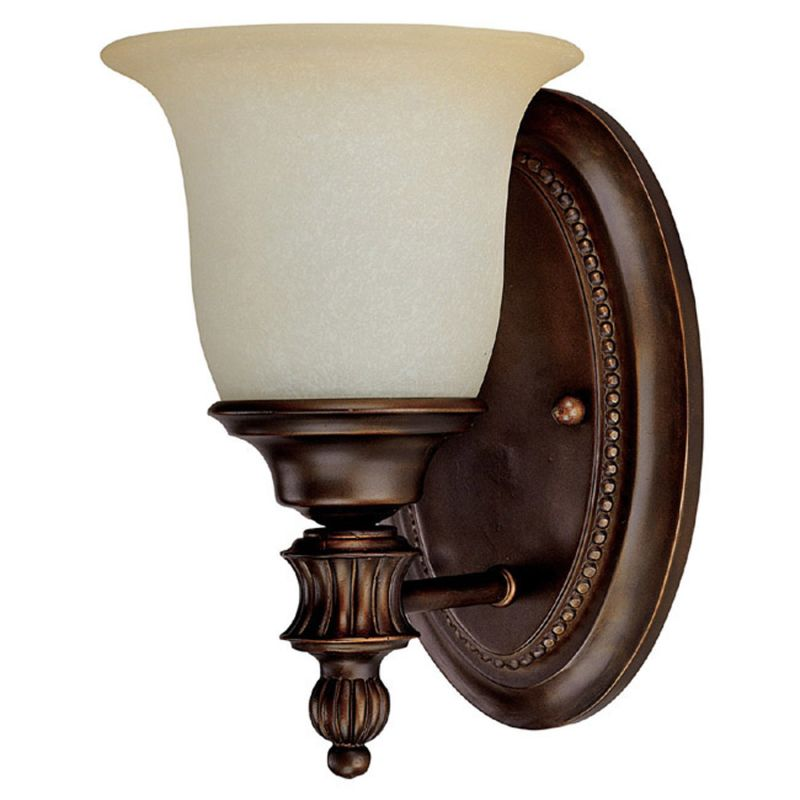 Capital Lighting 1701-291 Avery 1 Light Bathroom Sconce Burnished