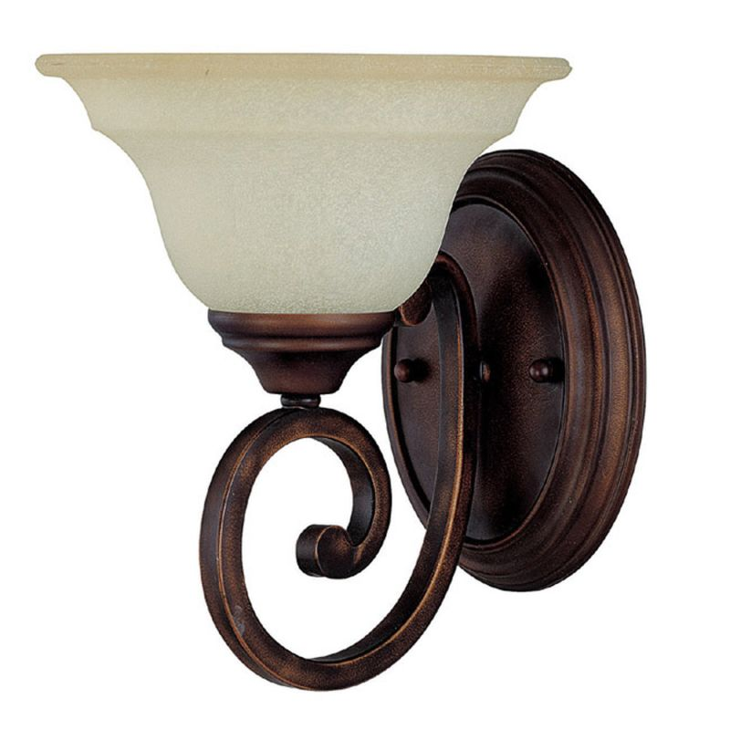 Capital Lighting 1781-292 Chandler 1 Light Wall Sconce Burnished