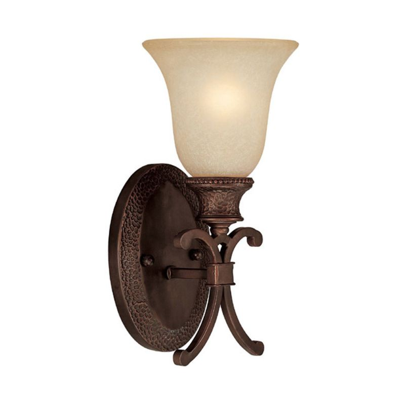 Capital Lighting 1886-252 Hill House 1 Light Wall Sconce Burnished