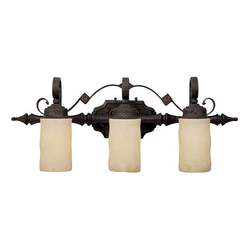 Capital Lighting 1903-125 River Crest 3 Light Bathroom Vanity Fixture