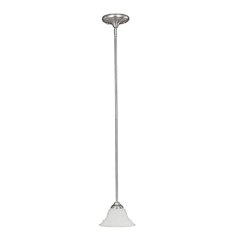 Capital Lighting 3070-222 Chandler 1 Light Mini Pendant Matte Nickel