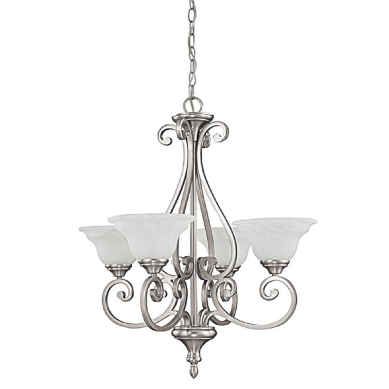 Capital Lighting 3074-222 Chandler 4 Light 1 Tier Chandelier Matte