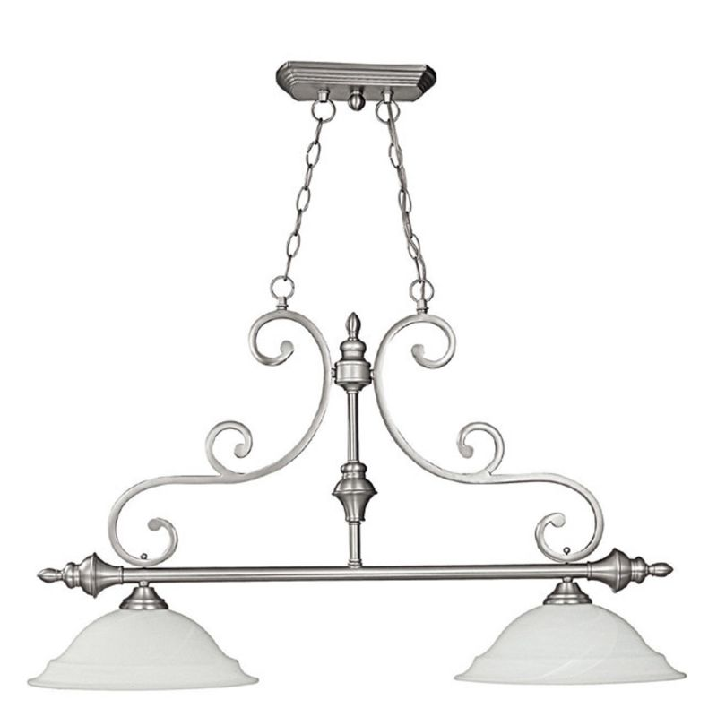 Capital Lighting 3077 Chandler 2 Light 1 Tier Linear Chandelier Matte