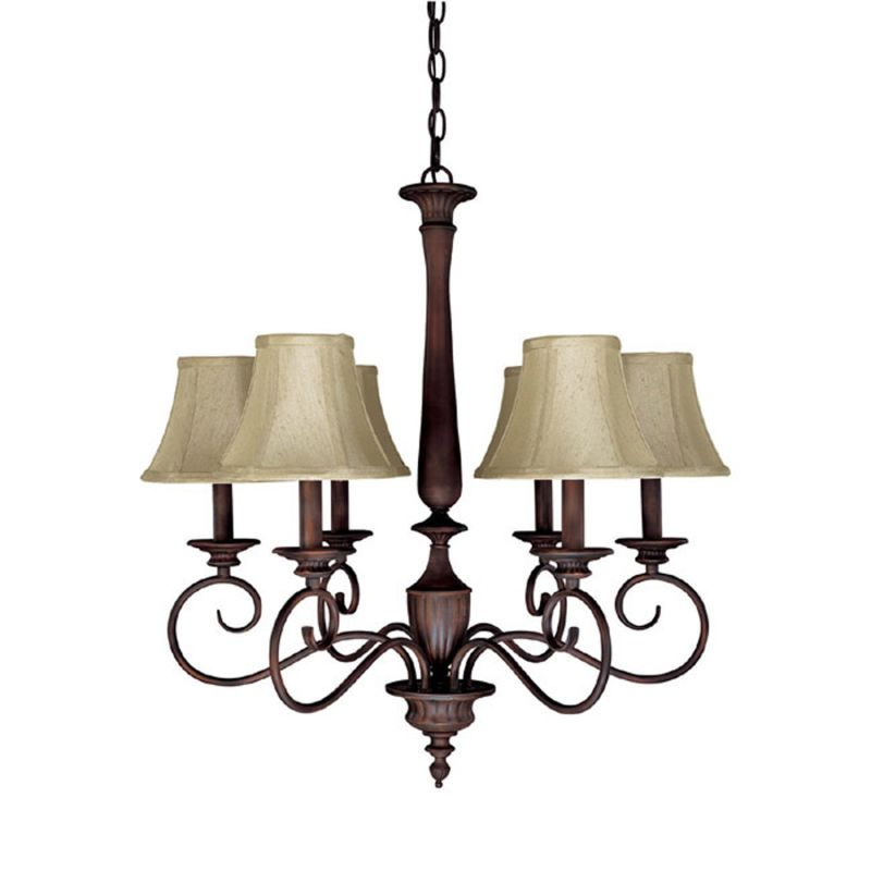 Capital lighting 3146mz 423 mediterranean bronze hammond 6 for Mediterranean lighting fixtures