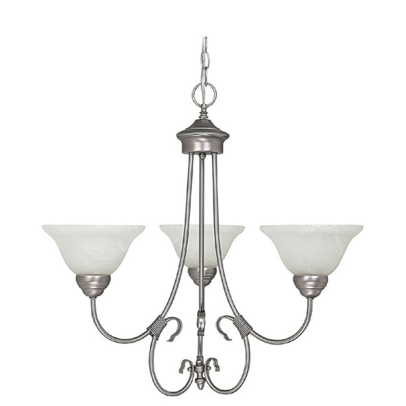 Capital Lighting 3223-220 Hometown 3 Light 1 Tier Chandelier Matte