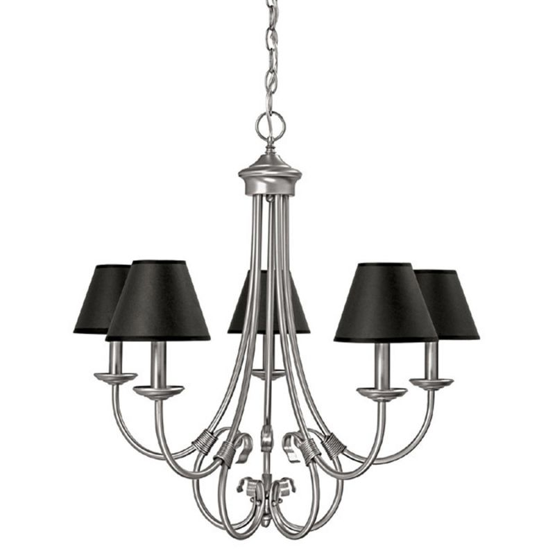 Capital Lighting 3225-427 Hometown 5 Light 1 Tier Chandelier Matte