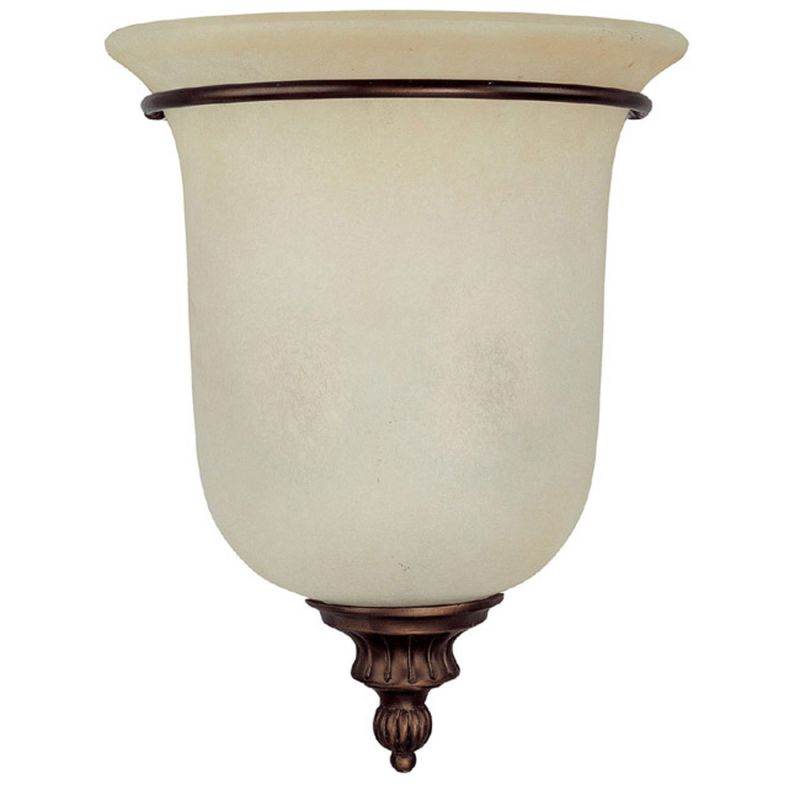 Capital Lighting 3787 Avery 2 Light Wall Washer Sconce Burnished