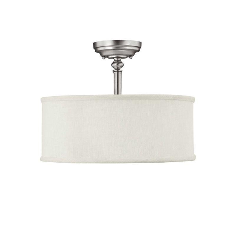 Capital Lighting 3923-480 Loft 3 Light Semi-Flush Ceiling Fixture