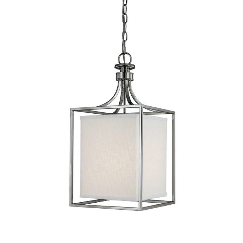 "Capital Lighting 9046-463 Midtown 2 Light 11"" Wide Pendant Polished"