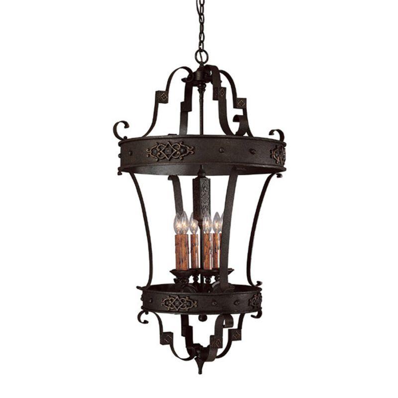 Capital Lighting 9352 Grandview 6 Light Full Sized Lantern Pendant