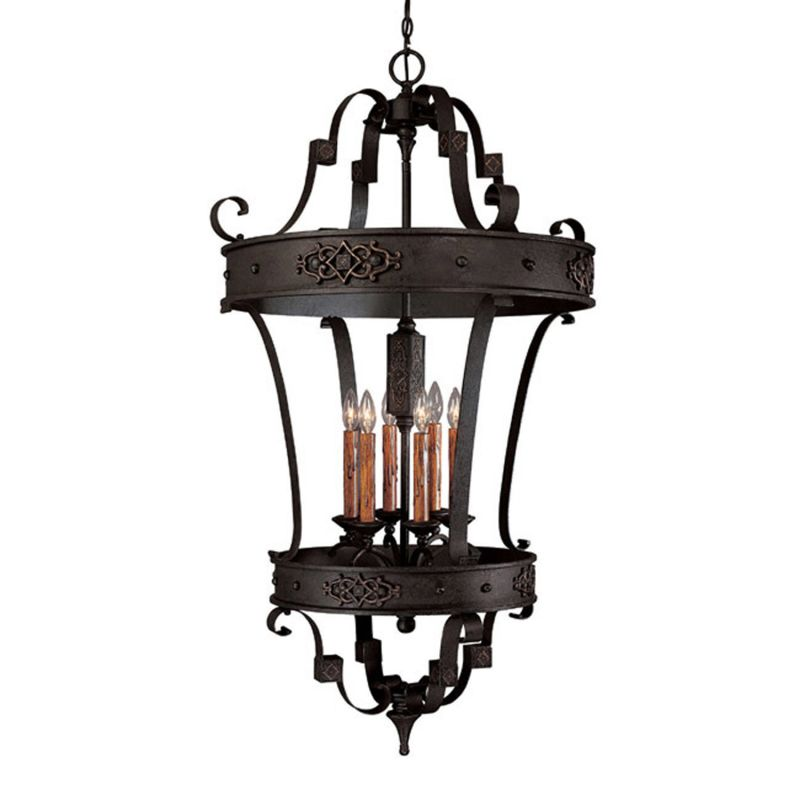 Capital Lighting 9353 Grandview 6 Light Full Sized Lantern Pendant