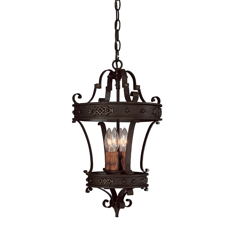 Capital Lighting 9354 Grandview 4 Light Full Sized Lantern Pendant