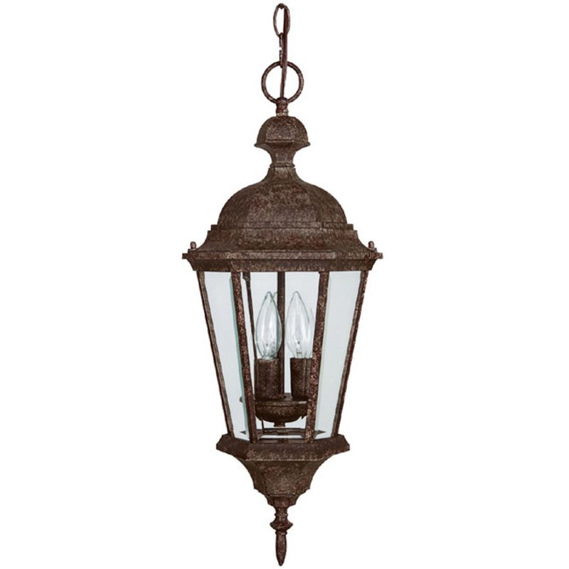 Capital Lighting 9724 Carriage House 3 Light Outdoor Mini Pendant