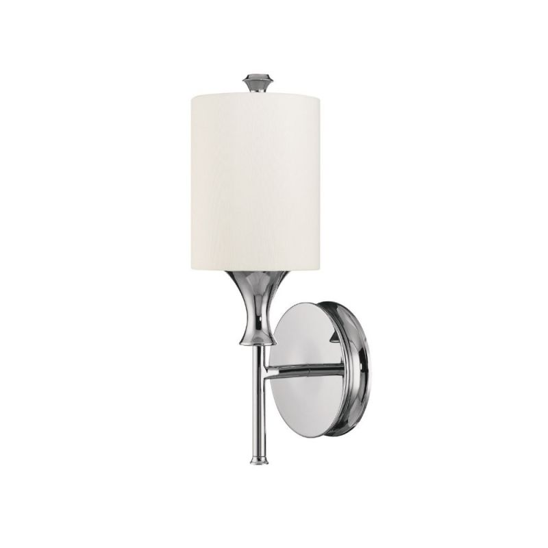 Capital Lighting 1171 Studio 1 Light Wall Sconce Polished Nickel /
