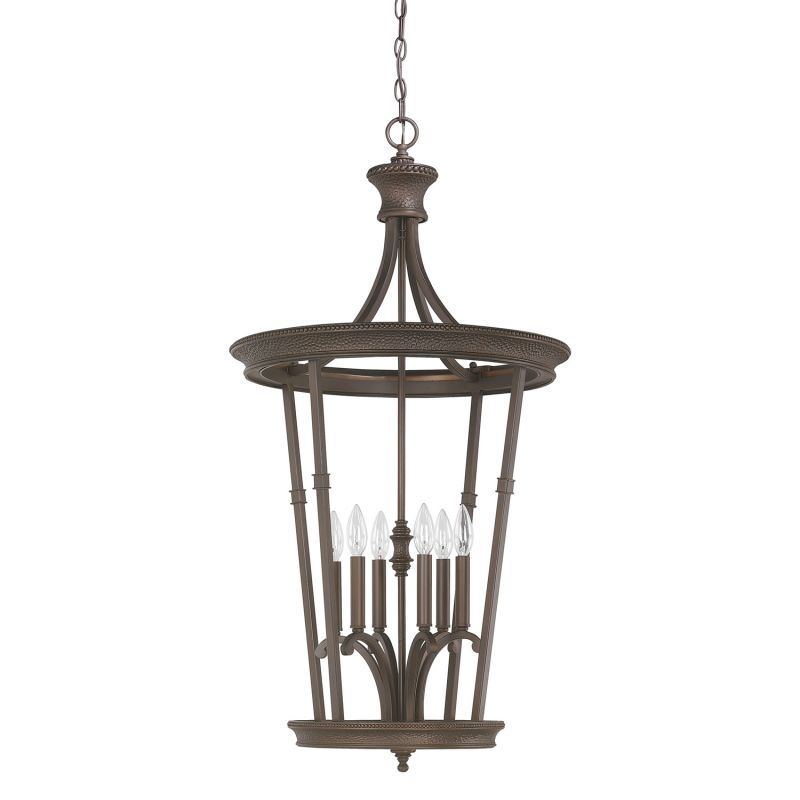 "Capital Lighting 3560 Hill House 6 Light 21"" Wide Chandelier Burnished Sale $256.00 ITEM: bci2625204 ID#:3560BB UPC: 841224029206 :"