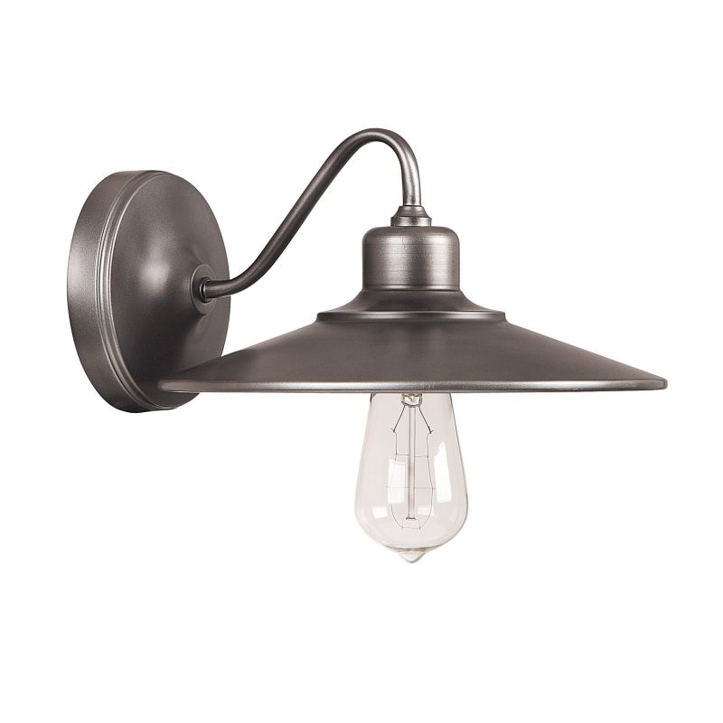 Capital Lighting 4191 Urban 1 Light Wall Sconce Graphite Indoor