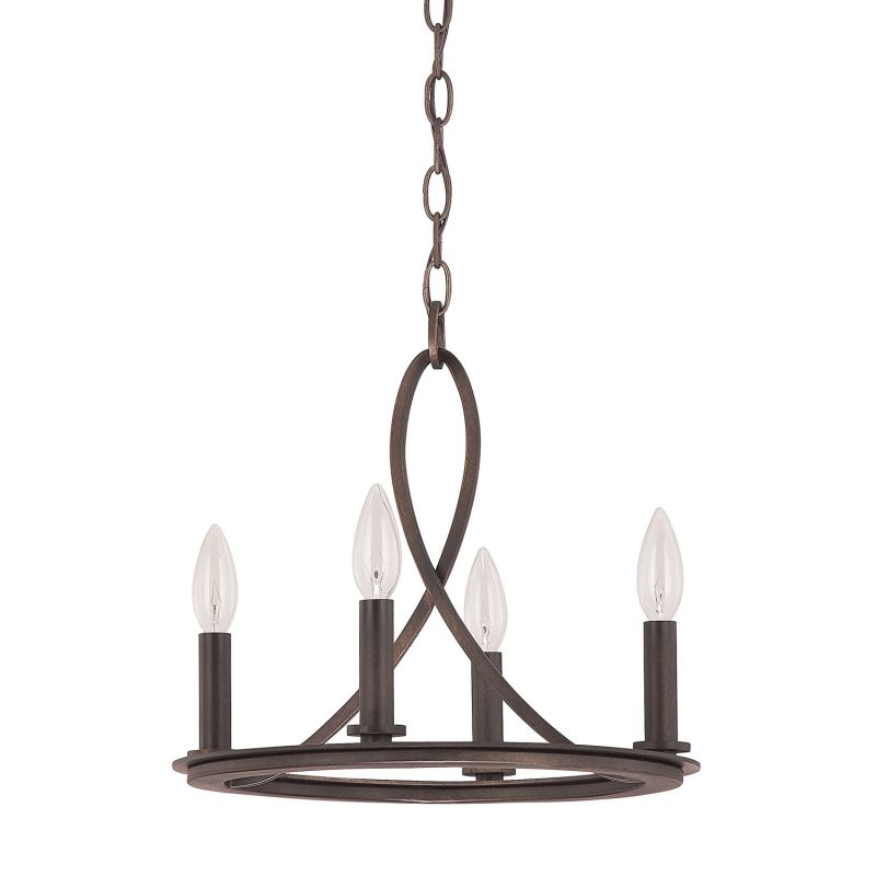 Capital Lighting 4204 Chastain 4 Light 1 Tier Candle Style Chandelier