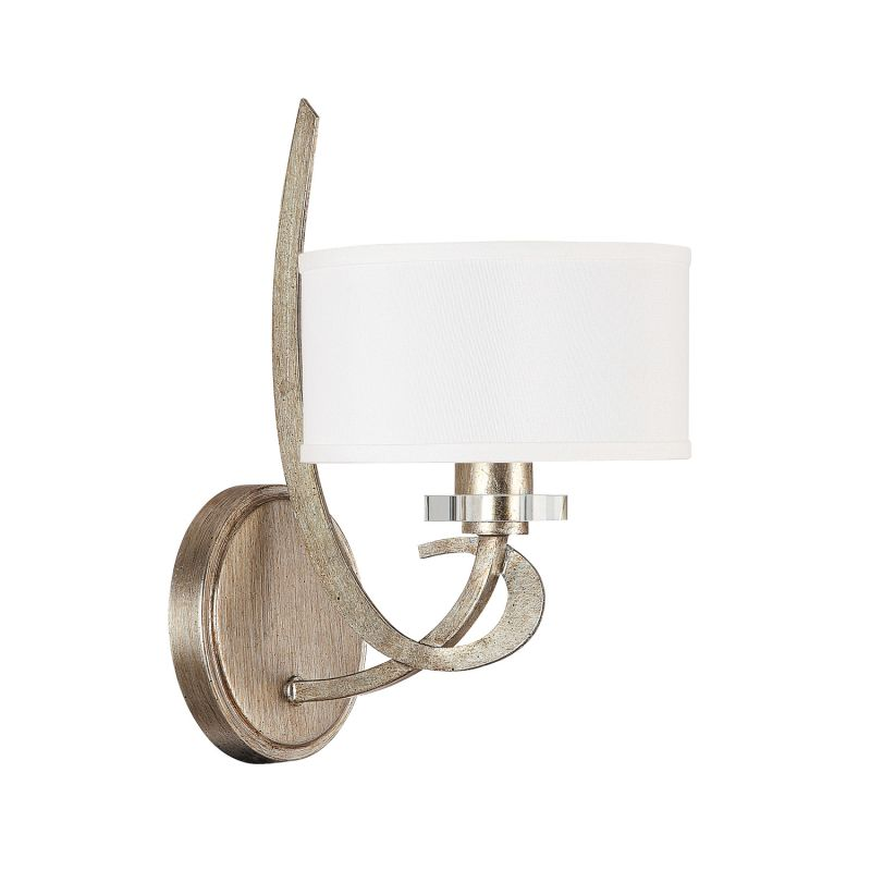 Capital Lighting 4261-552 Hutton 1 Light Wall Sconce Winter Gold