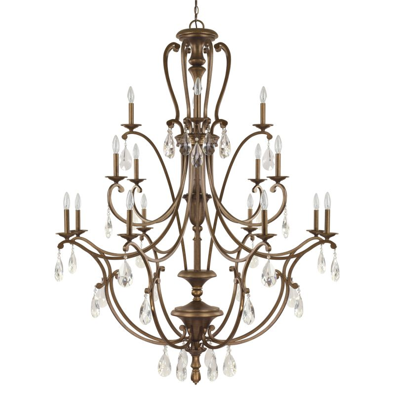 Capital Lighting 4290-000 The Claybourne Collection 16 Light 3 Tier
