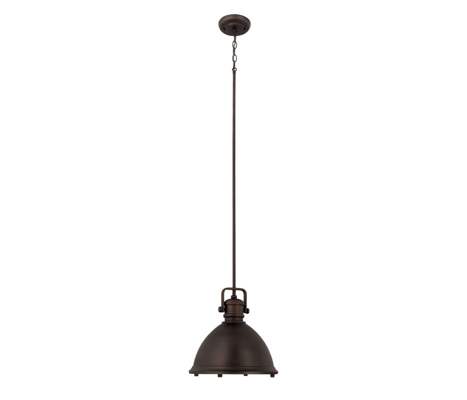 Capital Lighting 4432 1 Light Full Sized Pendant Burnished Bronze