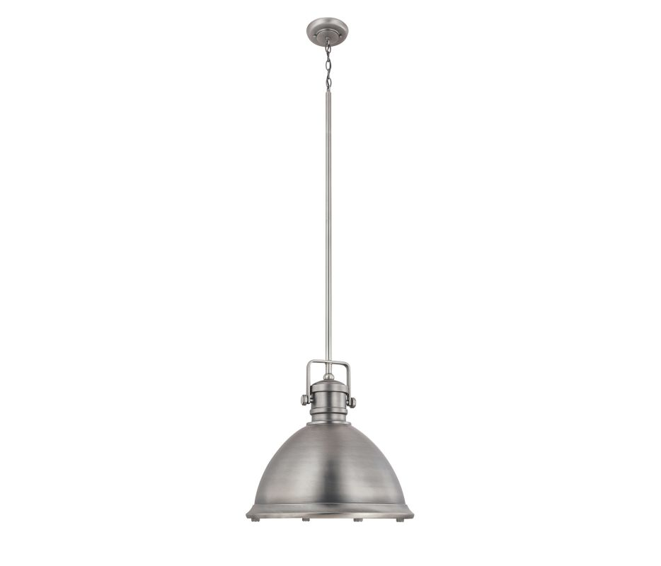 Capital Lighting 4433 1 Light Full Sized Pendant Antique Nickel Indoor
