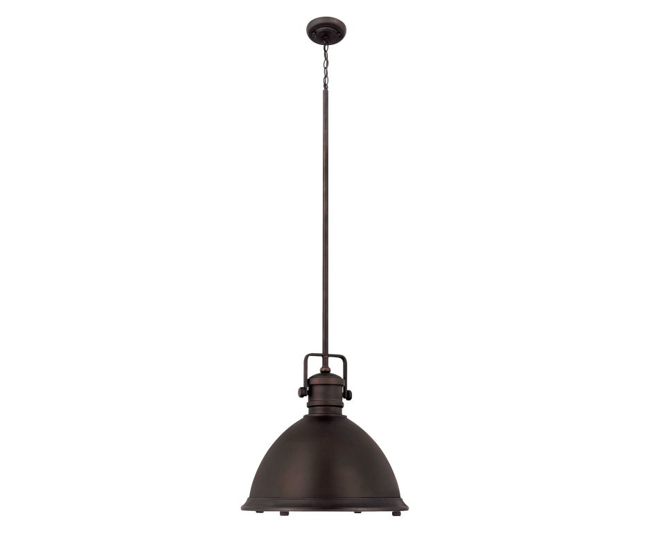 Capital Lighting 4433 1 Light Full Sized Pendant Burnished Bronze