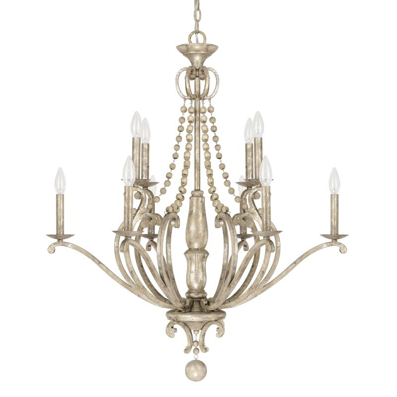 Capital Lighting 4440-000 The Adele Collection 10 Light 2 Tier Candle
