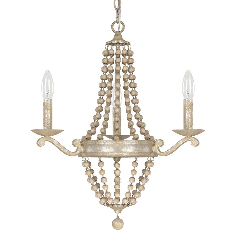 Capital Lighting 4443-000 The Adele Collection 3 Light 1 Tier Candle