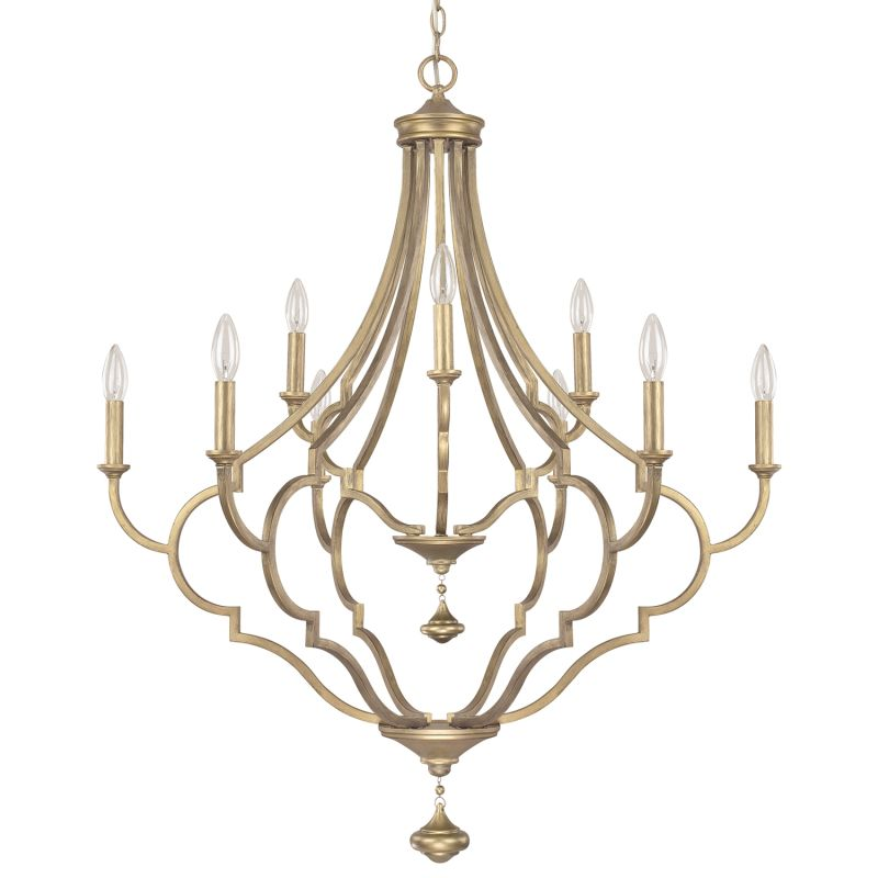 Capital Lighting 4459-000 The Quinn Collection 9 Light 2 Tier Candle