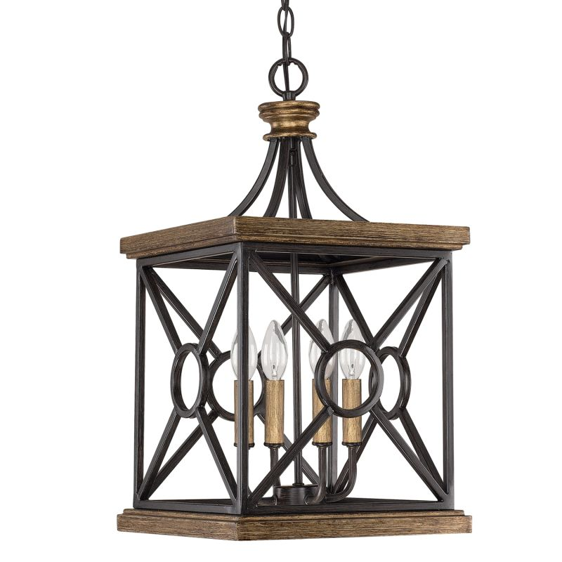 Capital Lighting 4501 The Landon Collection 4 Light Full Sized Cage