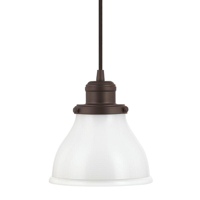 Capital Lighting 4551-128 Baxter 1 Light Mini Pendant Burnished Bronze