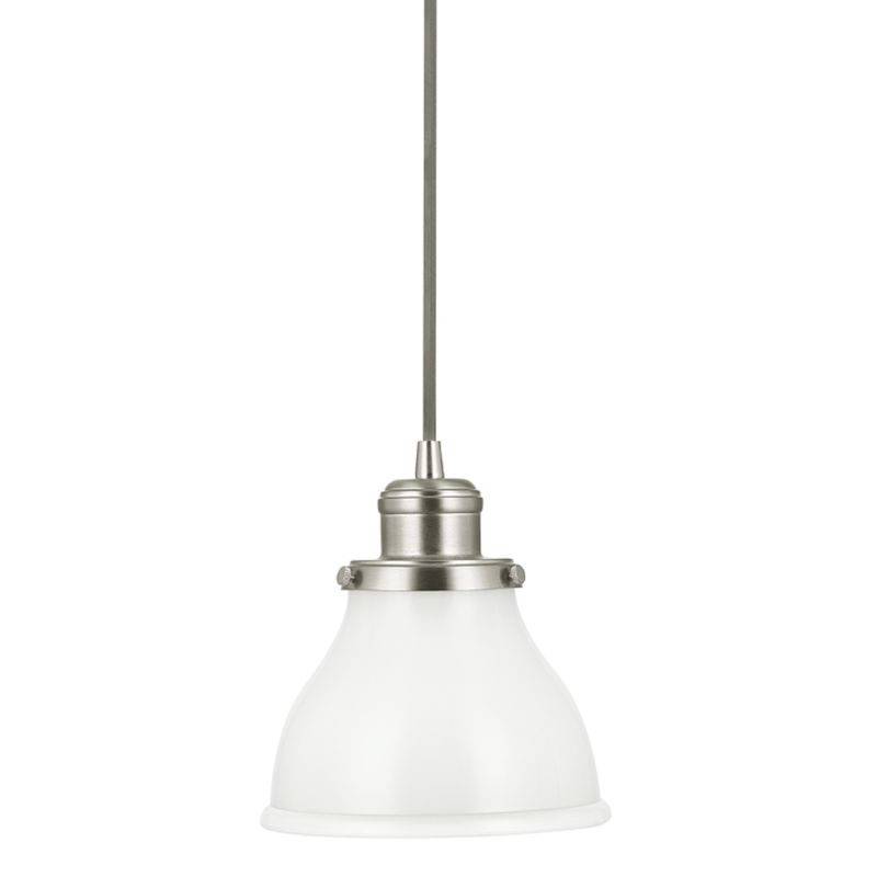 Capital Lighting 4551-128 Baxter 1 Light Mini Pendant Brushed Nickel