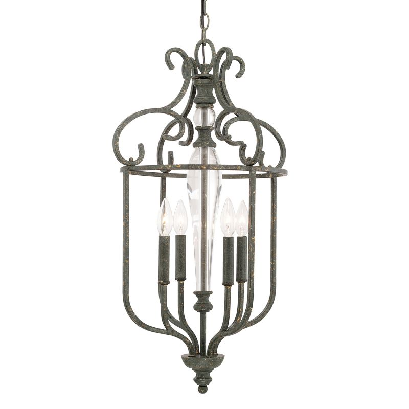 Capital Lighting 517741 Everleigh 4 Light Pendant French Greige Indoor