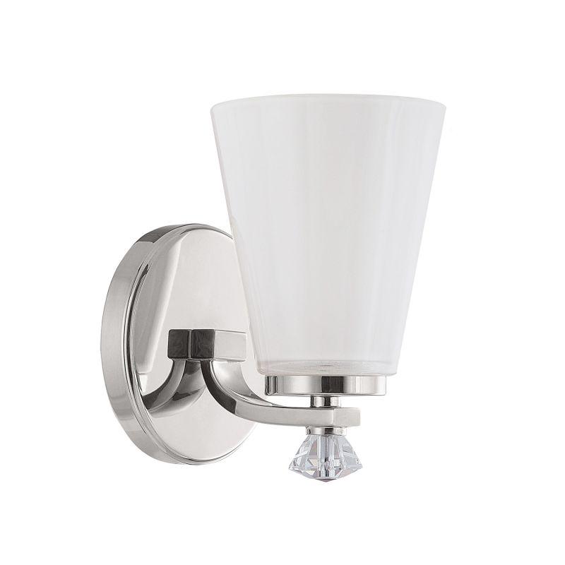 Capital Lighting 8021-127 Alisa 1 Light Wall Sconce Polished Nickel