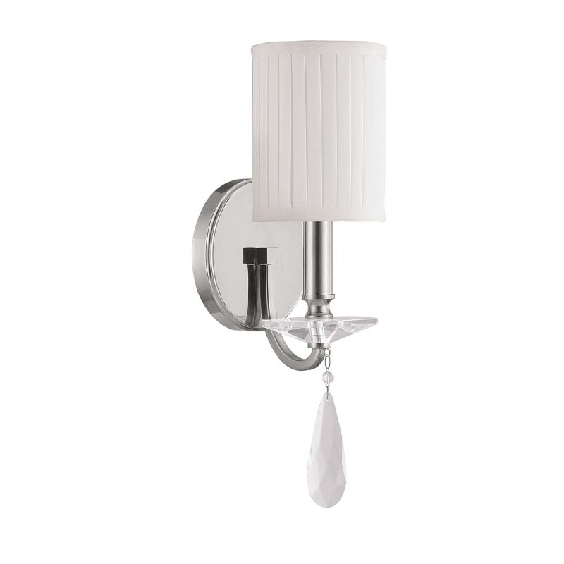 Capital Lighting 8026-573-CR Alisa 1 Light Candle-Style Wall Sconce