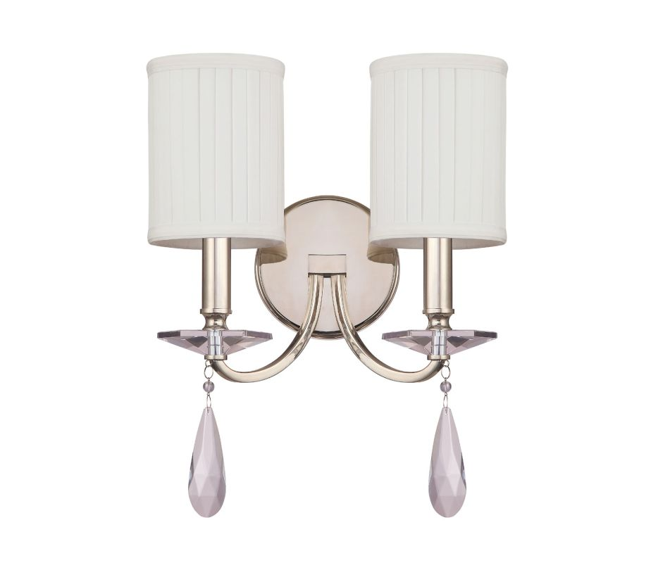 Capital Lighting 8027-573-CR Alisa 2 Light Candle-Style Wall Sconce