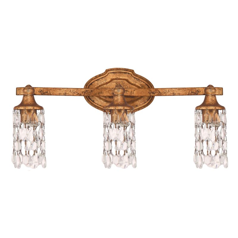 "Capital Lighting 8523-CR Blakely 3 Light 21"" Wide Bathroom Vanity"