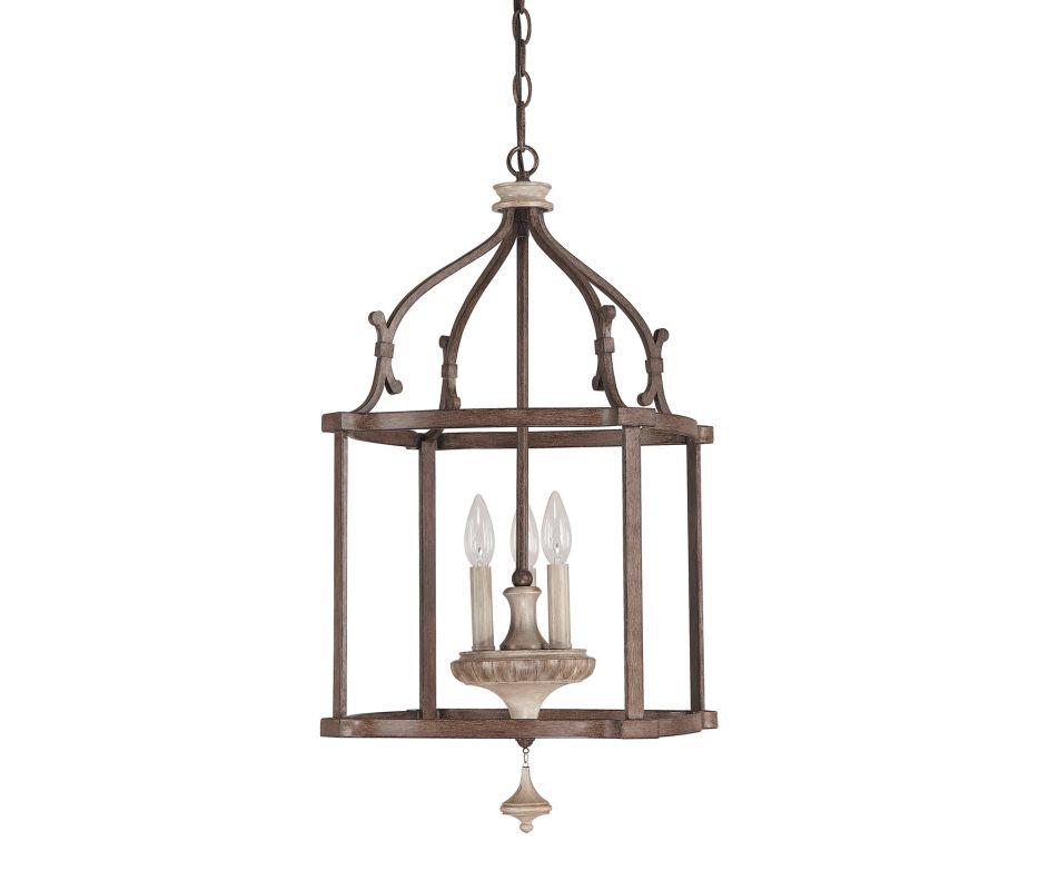 Capital Lighting 9472 Chateau 3 Light Full Sized Lantern Pendant