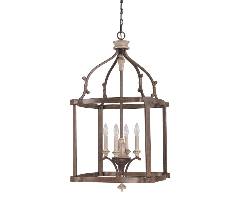 Capital Lighting 9473 Chateau 4 Light Full Sized Lantern Pendant