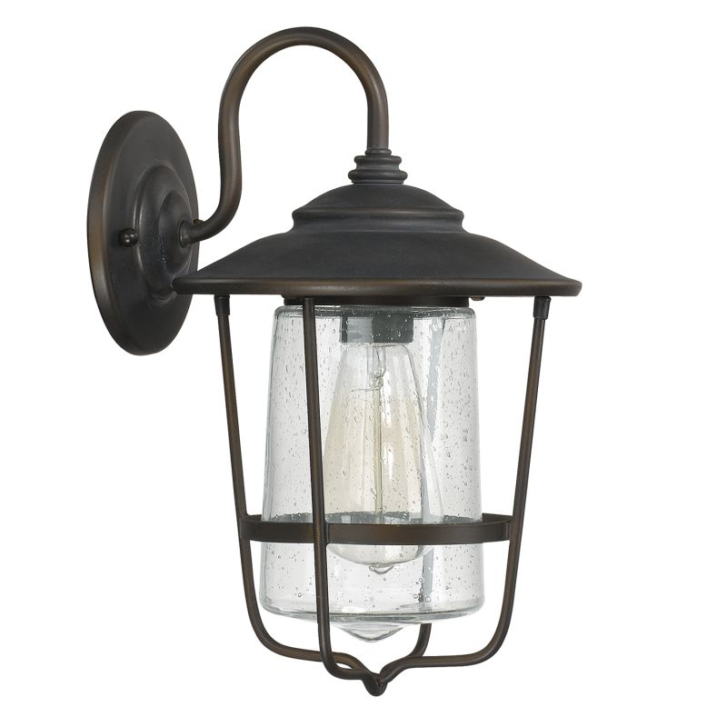 "Capital Lighting 9601 Creekside Single Light 13"" Tall Outdoor Wall"