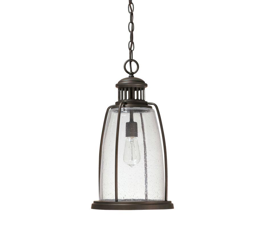 Capital Lighting 9636 Harbour 1 Light Outdoor Full Sized Pendant Old Sale $274.00 ITEM: bci2235171 ID#:9636OB UPC: 841224090916 :