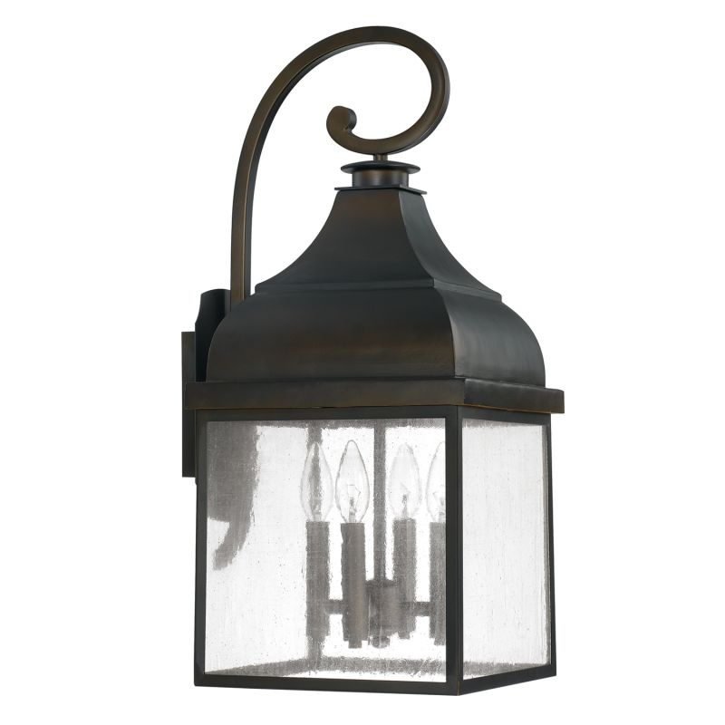 Capital Lighting 9643 The Westridge Collection 4 Light Outdoor Wall Sale $248.00 ITEM: bci2434691 ID#:9643OB UPC: 841224000212 :